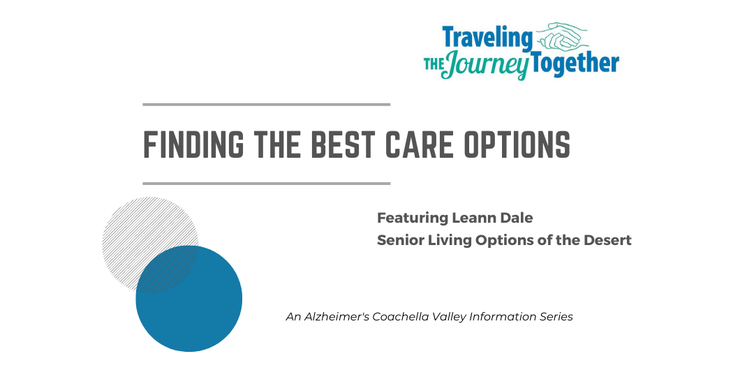 Finding the right care options
